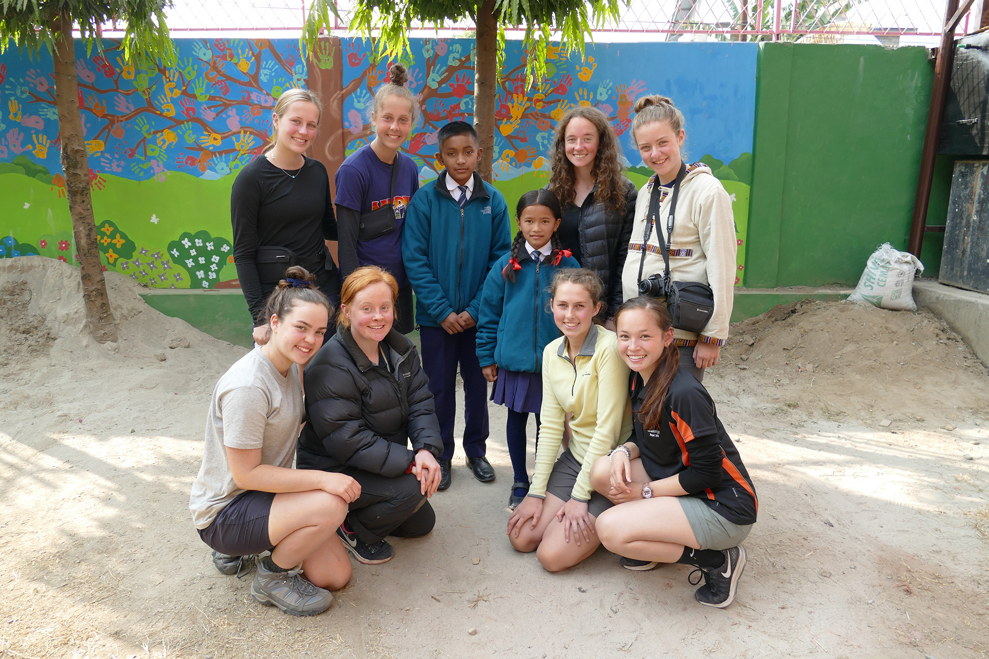Meeting the students and staff of The Shamrock School in Nepal was a