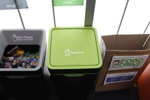 Green Team bins
