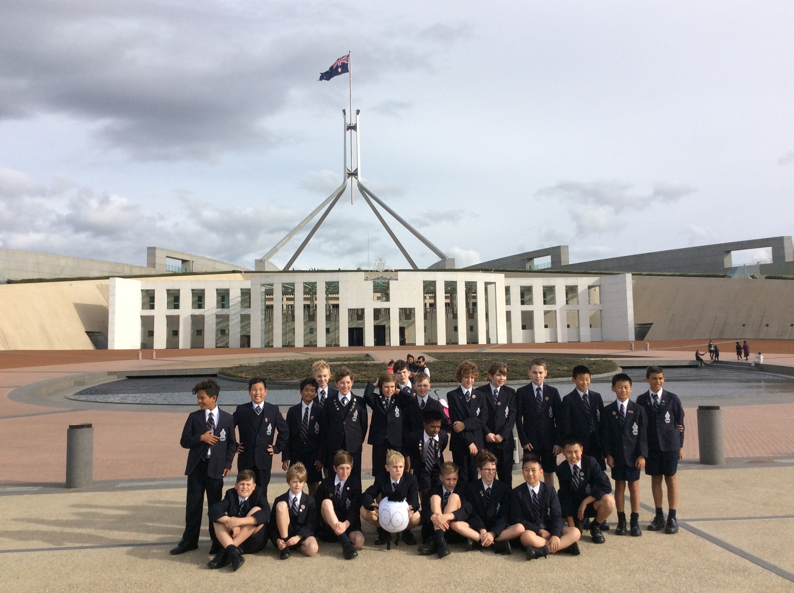 Year 6 Camp Canberra