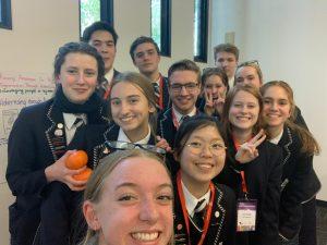 Global Goals group selfie