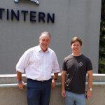 Alumni visits Tintern Grammar